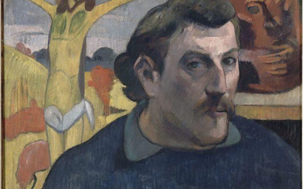 Paul Gauguin, Autoportrait au Christ jaune, (c)RMN - Grand Palais-Orsay, photo Rene-Gabriel Ojeda