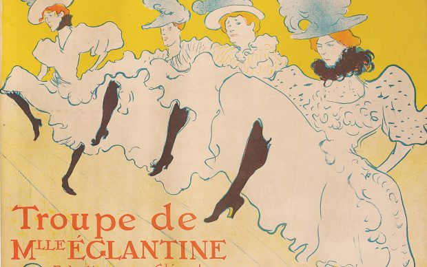 Henri de Toulouse-Lautrec Troupe de Mlle Églantine 1896 litografia a colori, 61,7x80,4 cm © Herakleidon Museum, Athens Greece
