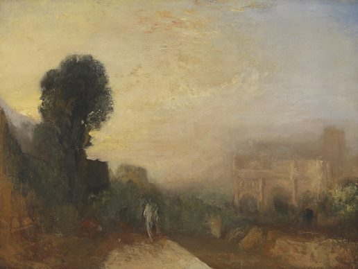 Joseph Mallord William Turner, The Arch of Constantine, Rome. c.1835. Credits Tate: Accepted by the nation as part of the Turner Bequest 1856