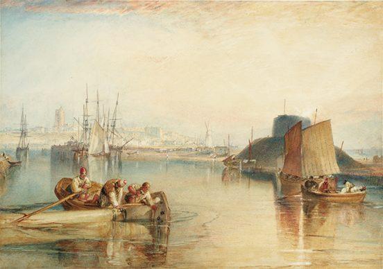Joseph Mallord William Turner, Aldborough, Suffolk c.1826. Credits Tate: Bequeathed by Beresford Rimington Heaton 1940