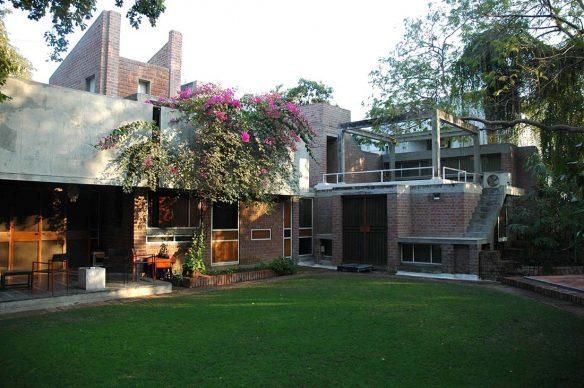 Balkrishna Doshi, Kamala House, 1963, Ahmedabad, India - Photo courtesy of VSF - Courtesy of the Pritzker Architecture Prize