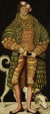 Lucas Cranach the Elder, Henry the Pious, Duke of Saxony, 1514. Gemäldegalerie Alte Meister, Staatliche Kunstsammlungen Dresden