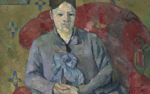 Madame Cézanne in a Red Armchair by Paul Cézanne c.1877 Museum of Fine Arts, Boston. Bequest of Robert Treat Paine, 2nd. Photo © 2017 Museum of Fine Arts, Boston;