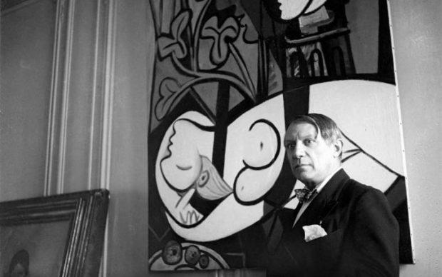 Pablo Picasso ritratto da Sir Cecil Beaton