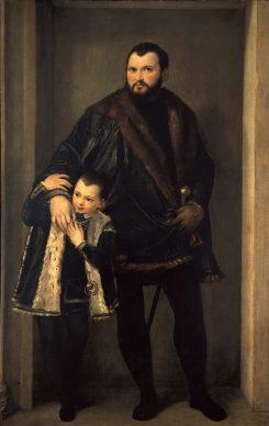 Paolo Veronese, Count Iseppo da Porto, c. 1552. The Walters Art Museum, Baltimore, Maryland and Florence, Galleria degli Uffizi, Contini Bonacossi Collection
