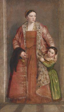 Paolo Veronese, Countess Livia da Porto Thiene, c. 1552. The Walters Art Museum, Baltimore, Maryland and Florence, Galleria degli Uffizi, Contini Bonacossi Collection