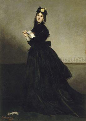 Carolus Duran, La dame au gant, 1869. Parijs, Musée d'Orsay