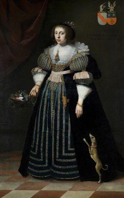 Wybrand de Geest, Sophia van Vervou. Private collection