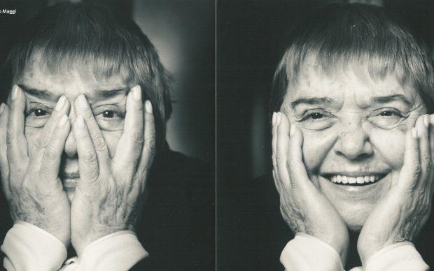 Fernanda Pivano, photo by Alessandro Moggi, 1996