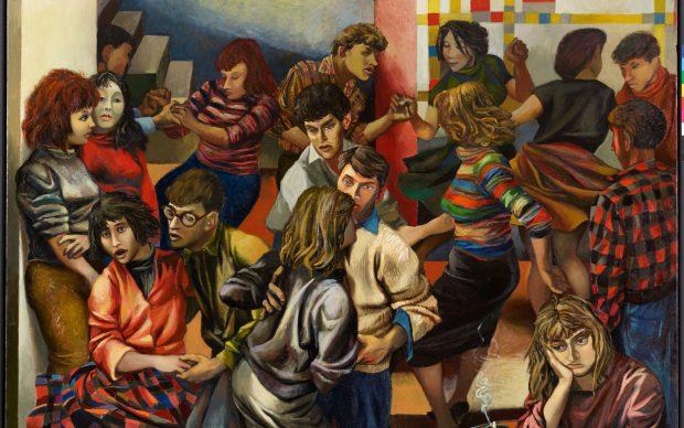 Renato Guttuso (Bagheria, Palermo 1911 - Roma 1987) Boogie-woogie, 1953 Olio su tela, 170 x 205,5 cm. Rovereto, Mart – Museo di arte moderna e contemporanea di Trento e Rovereto Collezione VAF - Stiftung