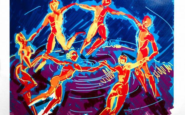 Roberta Biondini, Centrifuga, da La danza di Matisse, 2016