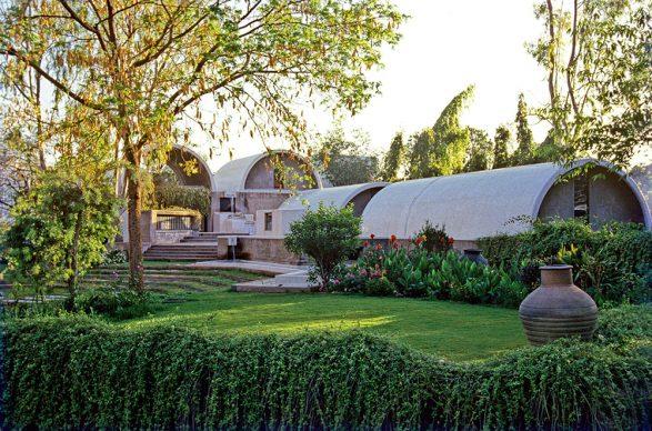 Balkrishna Doshi, Sangath Architect's Studio, 1980, Ahmedabad, India. Photos courtesy of VSF - Courtesy of the Pritzker Architecture Prize
