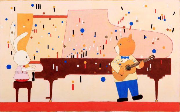 Bologna, Mostra degli Illustratori 2018: l'opera di Yamada Kazuaki - Giappone