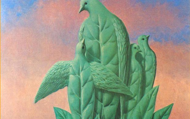 René Magritte The Natural Graces, 1964 Oil on canvas, 55.5 x 46.5 cm Kunsthaus Zürich, donated by Walter Haefner, 1993 © 2018 ProLitteris, Zurich