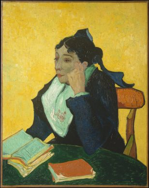 Vincent van Gogh, The Arlésienne (Marie Ginoux), 1888, The Metropolitan Museum of Art, New York, Bequest of Sam A. Lewisohn, 1951