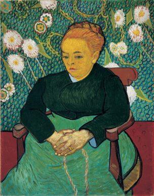 Vincent van Gogh, Woman Rocking the Cradle (Augustine Roulin), 1889, The Art Institute of Chicago, Helen Birch Bartlett Memorial Collection, 1926