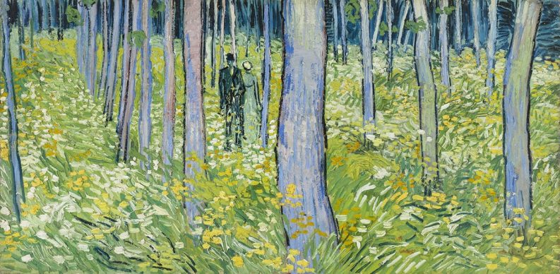 Vincent van Gogh, Undergrowth with Two Figures, 1890, Cincinnati Art Museum, Bequest of Mary E. Johnston, 1967