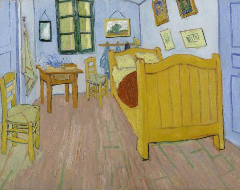 Vincent van Gogh, The Bedroom, Arles, 1888. Van Gogh Museum, Amsterdam (Vincent van Gogh Foundation)