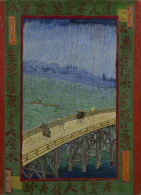Vincent van Gogh, Bridge in the Rain (after Hiroshige), October-November 1887, Van Gogh Museum, Amsterdam (Vincent van Gogh Foundation)