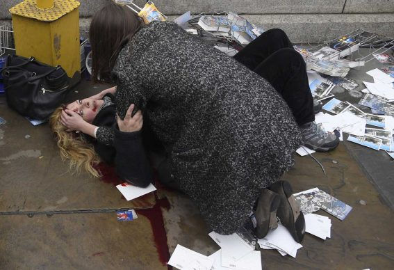 Witnessing The Immediate Aftermath Of An Attack In The Heart of London. Toby Melville, UK/ Reuters