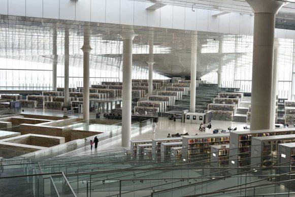 OMA, Qatar National Library, Doha. Photograph by Hans Werlemann, Courtesy of OMA