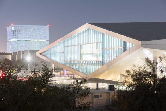 OMA, Qatar National Library, Doha. Photograph by Iwan Baan, Courtesy of OMA