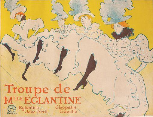 Henri de Toulouse-Lautrec, Troupe de Mlle Églantine, 1896 © Herakleidon Museum, Athens Greece