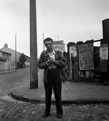 Robert Doisneau, Autoportrait Villejuif, 1949 © Atelier Robert Doisneau
