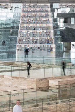 OMA, Qatar National Library, Doha. Photograph by Delfino Sisto Legnani and Marco Cappelletti, Courtesy of OMA