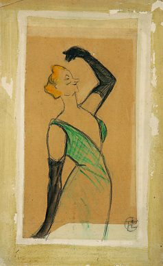 Henri de Toulouse-Lautrec, Yvette Guilbert, 1893 © Herakleidon Museum, Athens Greece