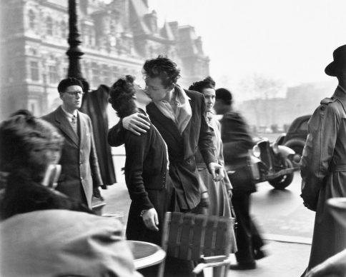Robert Doisneau, Le baiser de L'Hotel De Ville, 1950 @ Atelier Robert Doisneau