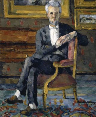 Paul Cézanne, Victor Chocquet, 1877, Columbus Museum of Art, Ohio: Museum Purchase, Howald Fund 1950.024