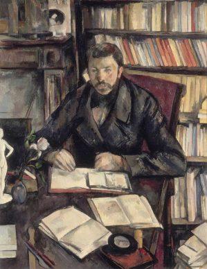Paul Cézanne, Gustave Geffroy, 1895–1896, Musée d'Orsay, Paris, gift of the Pellerin family, 1969. Photograph © RMN-Grand Palais (Musée d'Orsay) / Hervé Lewandowski