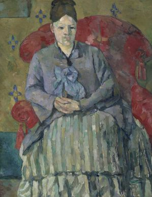 Paul Cézanne, Madame Cézanne in a Red Armchair, 1877, Museum of Fine Arts, Boston, Bequest of Robert Treat Paine, 2nd Photograph © 2017 Museum of Fine Arts, Boston