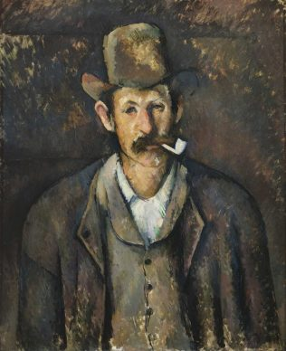 Paul Cézanne, Man with Pipe, c. 1896, The Samuel Courtauld Trust, The Courtauld Gallery, London