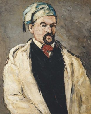 Paul Cézanne, Uncle Dominique in Smock and Blue Cap, 1866, Lent by The Metropolitan Museum of Art, Wolfe Fund, 1951; acquired from The Museum of Modern Art, Lillie P. Bliss Collection (53.140.1)