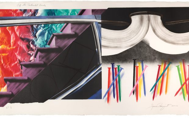 James Rosenquist, Off The Continental Divide, 1974