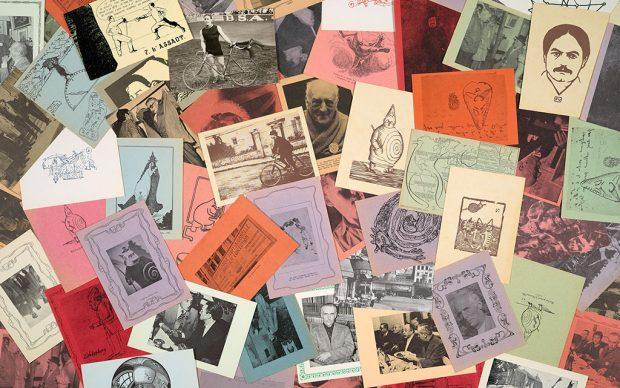 Cartoline dalla collezione di Harald Szeemann, Pataphysics Material, The Getty Research Institute