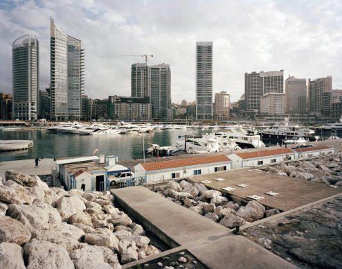 2011 Beirut. Serie di 8 foto inedite di Beirut realizzate in occasione di una missione per Solidère © Gabriele Basilico/Archivio Gabriele Basilico, Milano