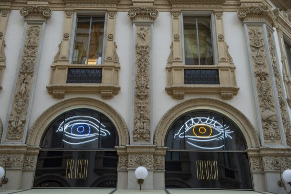Patrick Tuttofuoco, Heterocromic, Galleria Cracco, Milano, photo Carmine Conte