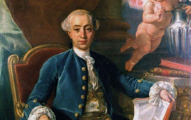 Presunto ritratto di Giacomo Casanova, attribuito a Francesco Narici, e in passato ad Anton Raphael Mengs o al suo allievo Giovanni Battista Casanova (fratello di Giacomo).[35]