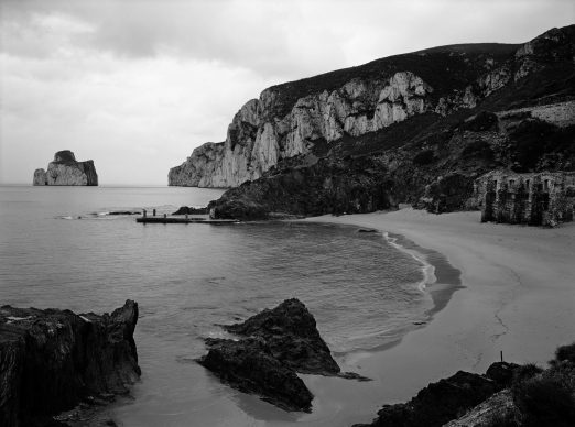 Sardegna 2006.  Una delle 15 foto di Paesaggi presenti in mostra, varie regioni, date diverse © Gabriele Basilico/Archivio Gabriele Basilico, Milano