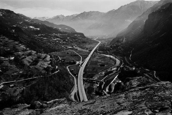 Dalla serie 1991 Valle d'Aosta © Gabriele Basilico/Archivio Gabriele Basilico, Milano