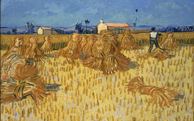 Vincent van Gogh, Moissons en Provence, juin 1888 Huile sur toile, 51x 60 cm Israel Museum, Jérusalem
