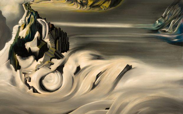 Óscar DOMÍNGUEZ 1906 - 1957 Paysage cosmique, 1938 - 1939