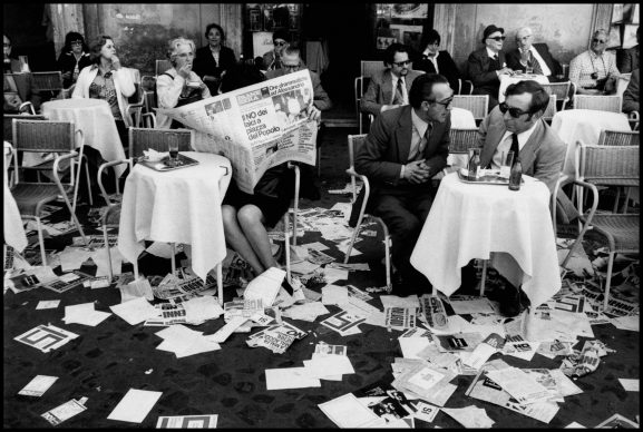 Leonard Freed, Roma, maggio 1974 © Leonard Freed / Magnum Photos