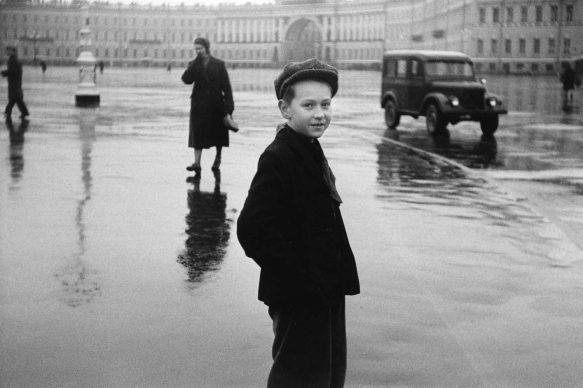 Boy in Leningrad, 1958,  Courtesy DC Moore Gallery, New York © Duane Michals