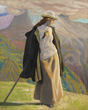 Jens Ferdinand Willumsen, A Mountain Climber, 1912, Statens Museum for  Kunst, Copenhagen©  Statens Museum for  Kunst, Copenhagen