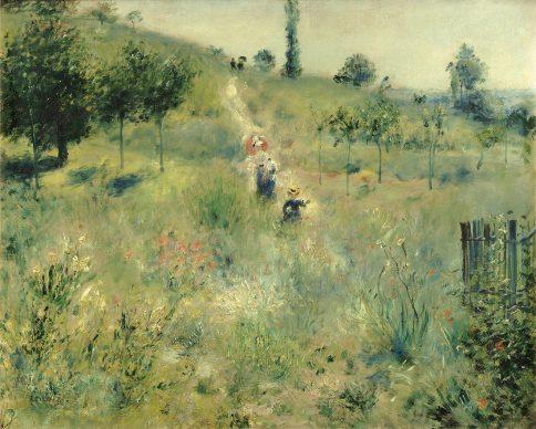 Auguste Renoir, Path Leading  through Tall  Grass, 1876/77, Musée d'Orsay,  Paris©  Musée  d'Orsay,  Dist.  RMN-Grand  Palais  /  Pa-trice  Schmidt