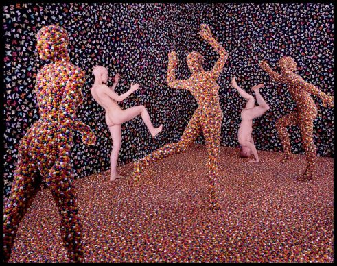 Sandy Skoglund: Shimmering Madness. Collezione Paolo Clerici